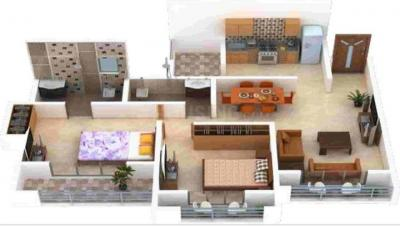 Gallery Cover Image of 735 Sq.ft 2 BHK Apartment for buy in L M Tower, Bhiwandi for 5000000