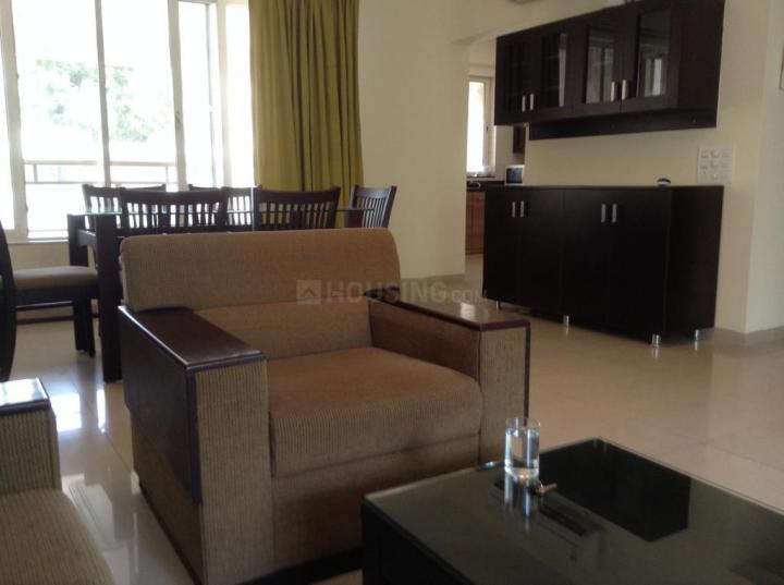 Living Room Image of 1800 Sq.ft 3 BHK Apartment for rent in Koregaon Park for 65000