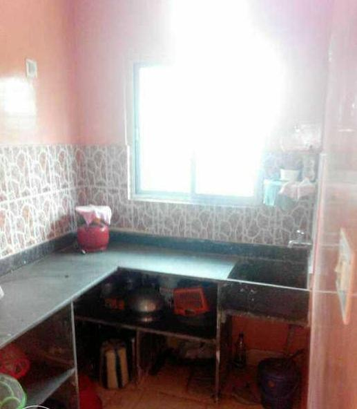 Kitchen Image of 600 Sq.ft 1 BHK Apartment for rent in Garia for 14000