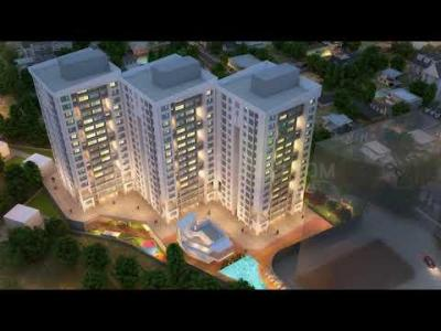 Gallery Cover Image of 1260 Sq.ft 2 BHK Apartment for buy in Jangid Galaxy Tower 2, Thane West for 12256400