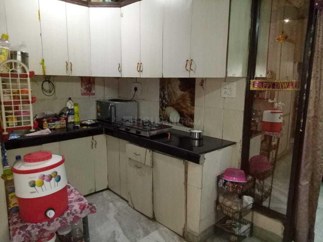 Kitchen Image of 540 Sq.ft 1 BHK Independent Floor for buy in Tilak Nagar for 2300000