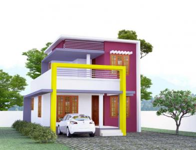 Gallery Cover Image of 850 Sq.ft 3 BHK Villa for buy in Kazhakkoottam for 3200000