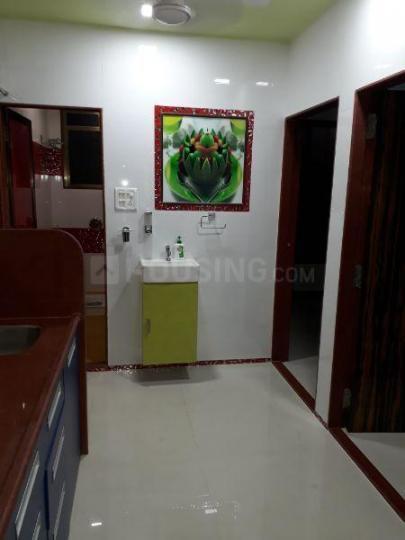 Kitchen Image of 1000 Sq.ft 2 BHK Independent Floor for rent in Kopar Khairane for 25000