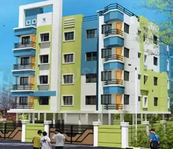 Gallery Cover Image of 977 Sq.ft 2 BHK Apartment for buy in Nayabad for 3200000