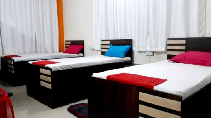 Bedroom Image of Sanjay Paying Guest In Viman Nagar Fully Furnished Rooms With High Quality Environments Contact Us 7378789258 in Viman Nagar