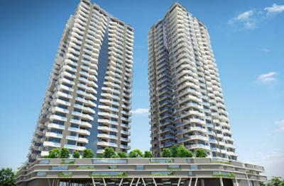Gallery Cover Image of 833 Sq.ft 2 BHK Apartment for buy in Soham Crystal Spires, Thane West for 14400000