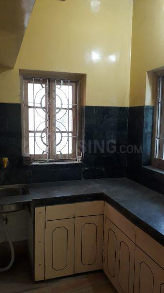 Kitchen Image of 600 Sq.ft 2 BHK Independent Floor for rent in Barisha for 8500