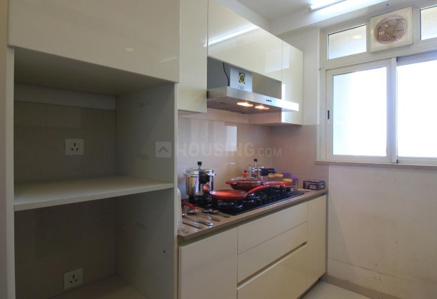 Kitchen Image of 1500 Sq.ft 3 BHK Apartment for rent in Borivali West for 60000
