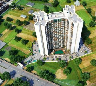 Gallery Cover Image of 640 Sq.ft 1 BHK Apartment for buy in Om Paraiso, Padle Gaon for 3700000