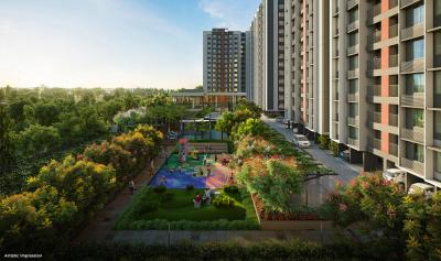 Gallery Cover Image of 1480 Sq.ft 3 BHK Apartment for buy in Adani Amogha, Vaishno Devi Circle for 6200000