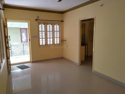 Gallery Cover Image of 555 Sq.ft 1 BHK Independent Floor for rent in Murugeshpalya for 16000
