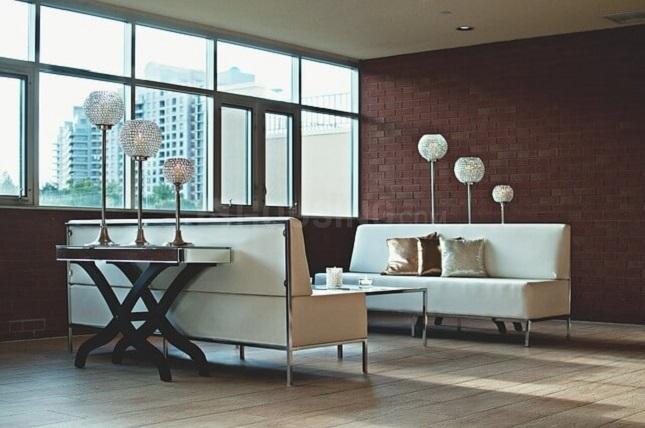Living Room Image of 765 Sq.ft 1 BHK Apartment for buy in Krishnarajapura for 5713268