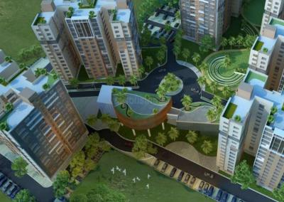 Gallery Cover Image of 1380 Sq.ft 3 BHK Apartment for buy in Siddha Happyville, Reekjoyoni for 5589000