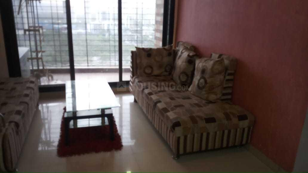 Living Room Image of 1200 Sq.ft 2 BHK Apartment for rent in Ghansoli for 35000