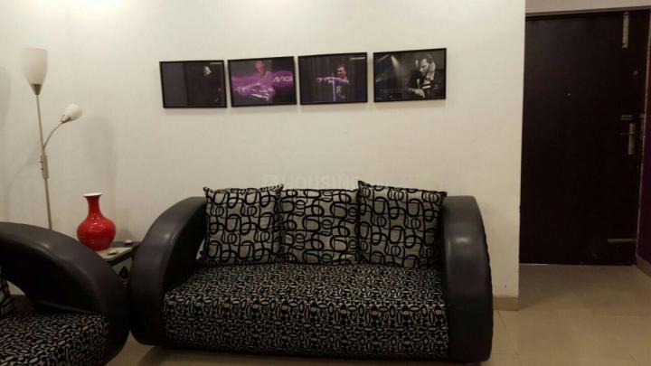 सेक्टर 49 में गर्ल्स पीजी के लिविंग रूम की तस्वीर