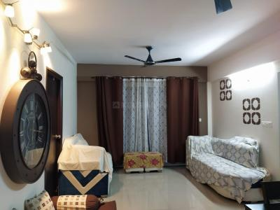 Gallery Cover Image of 1590 Sq.ft 3 BHK Apartment for rent in Ramky Ramky One Kosmos, Nallagandla for 25000