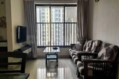 Gallery Cover Image of 600 Sq.ft 1 BHK Apartment for rent in Shubharambh Tower, Thane West for 18000