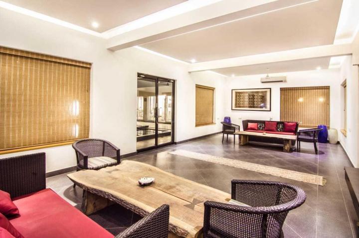 करापक्कम में पद्मालय के लिविंग रूम की तस्वीर