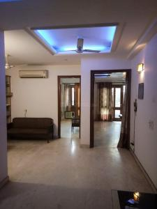 Gallery Cover Image of 900 Sq.ft 3 BHK Independent Floor for rent in Jangpura for 62000