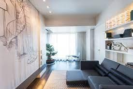 Balcony Image of 2100 Sq.ft 3 BHK Apartment for rent in Rustomjee Oriana, Bandra East for 250000