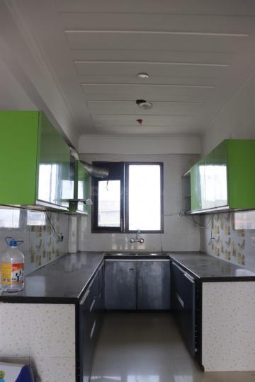 सेक्टर 31 में शोभा गर्ल्स पीजी के किचन की तस्वीर