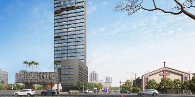 Gallery Cover Image of 1096 Sq.ft 3 BHK Apartment for buy in Kanakia Miami, Mahim for 51300000