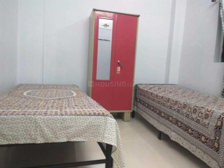 घनसोली में शिवम पीजी के बेडरूम की तस्वीर