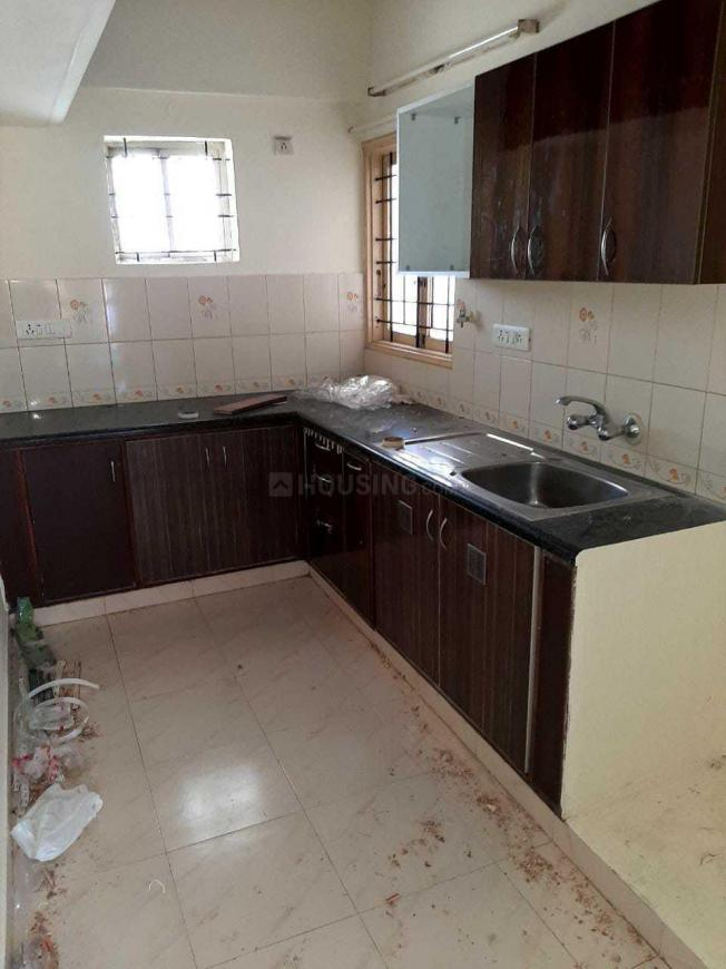Kitchen Image of 1100 Sq.ft 2 BHK Apartment for rent in Thippasandra for 20000