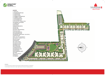Gallery Cover Image of 1100 Sq.ft 2 BHK Apartment for buy in Signature Global The Millennia, Sector 37D for 2300000