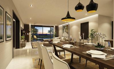 Gallery Cover Image of 2950 Sq.ft 3 BHK Apartment for rent in Kharadi for 125000