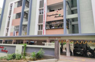 Gallery Cover Image of 1400 Sq.ft 3 BHK Apartment for rent in Pragathi Nagar for 21350