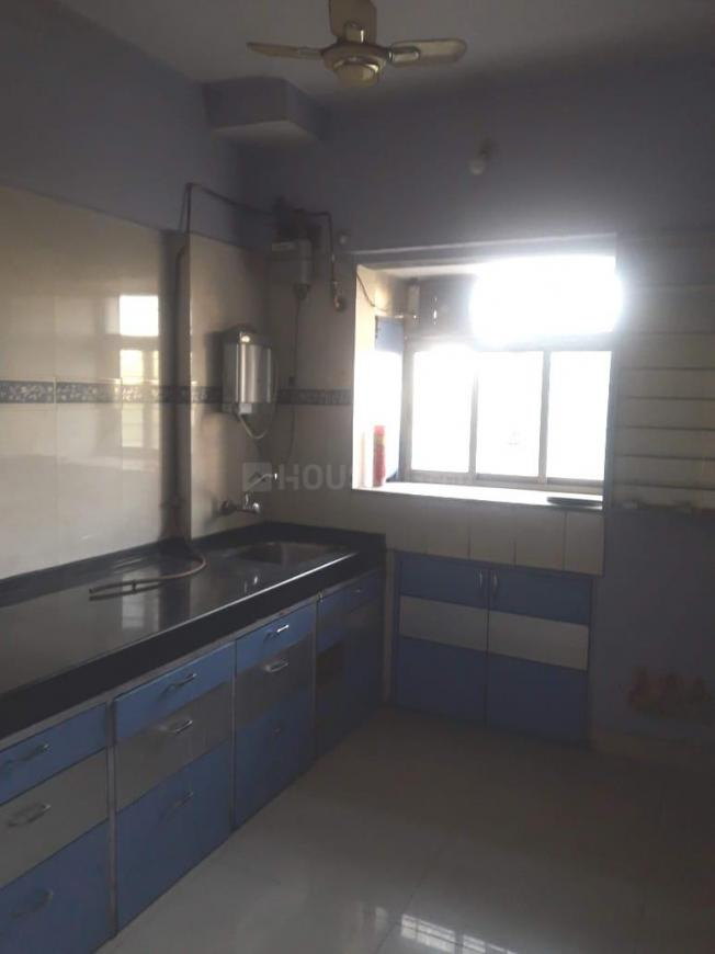 Kitchen Image of 1000 Sq.ft 2 BHK Apartment for rent in Thane West for 25000