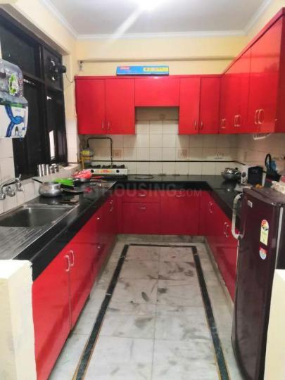 Kitchen Image of Fully Furnished PG For Girls in Sector 12 Dwarka