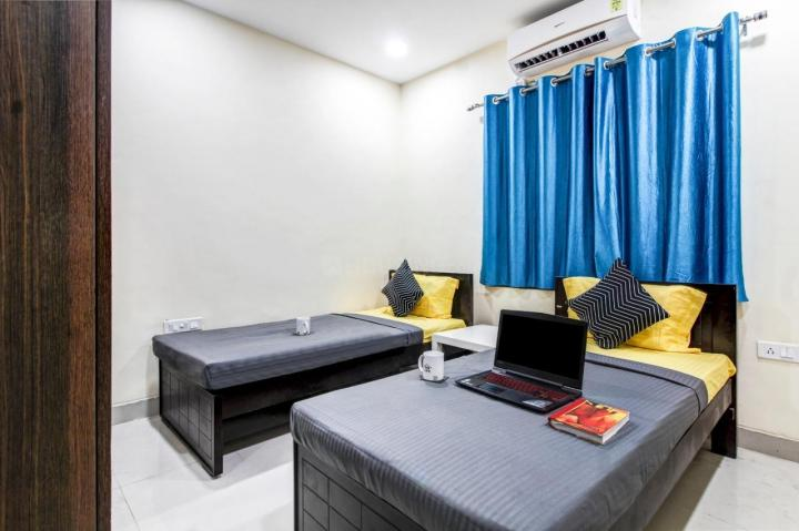 Bedroom Image of 350 Sq.ft 1 RK Apartment for rent in Hafeezpet for 17500