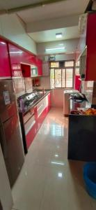 Kitchen Image of Oxotel,paying Guest Flats In Mumbai in Kasarvadavali, Thane West