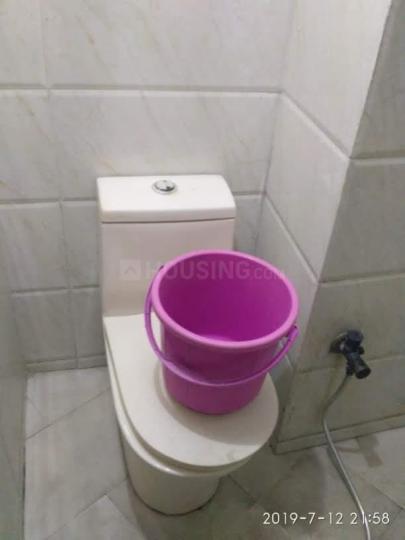 सेक्टर 16 में मन्नत पीजी के बाथरूम की तस्वीर