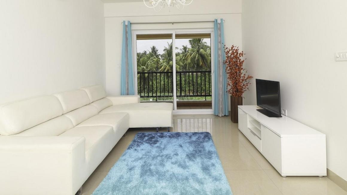 Living Room Image of 886 Sq.ft 2 BHK Apartment for buy in Selvapuram South for 3526000