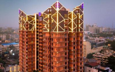 Gallery Cover Image of 2358 Sq.ft 3 BHK Apartment for buy in Landmark Vertica, Royapettah for 33012000