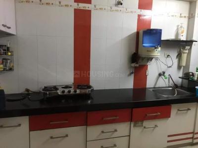 Kitchen Image of Pratik's PG in Ghatlodiya