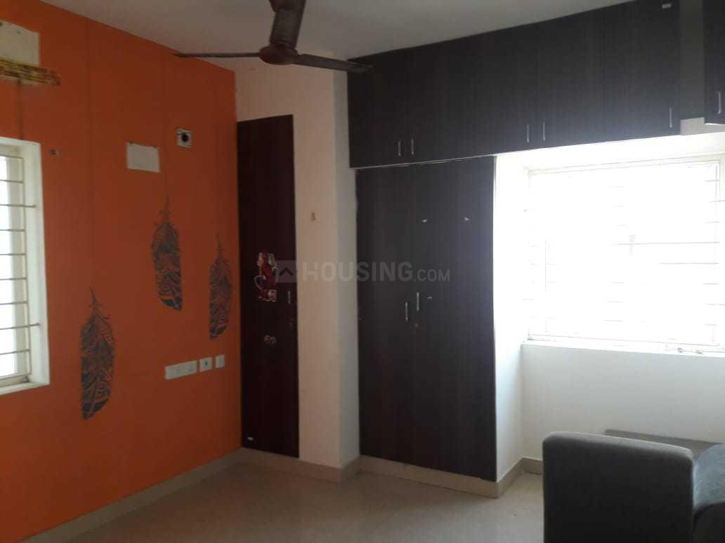 Bedroom Image of 1200 Sq.ft 3 BHK Apartment for rent in Velachery for 18000