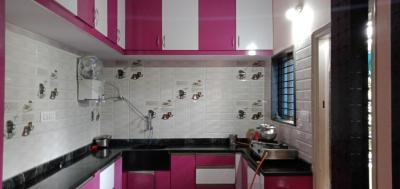 Kitchen Image of Savi Sadhana Ladies PG in Peenya