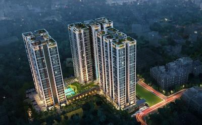 Gallery Cover Image of 739 Sq.ft 2 BHK Apartment for buy in Vinayak Vista, Lake Town for 5274675