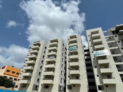 Gallery Cover Image of 1500 Sq.ft 3 BHK Apartment for buy in Nayans Nature Springs, Kukatpally for 8400000