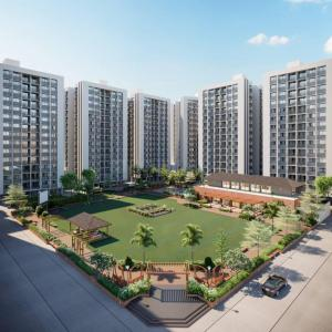 Gallery Cover Image of 1435 Sq.ft 3 BHK Apartment for buy in Bopal for 5800000