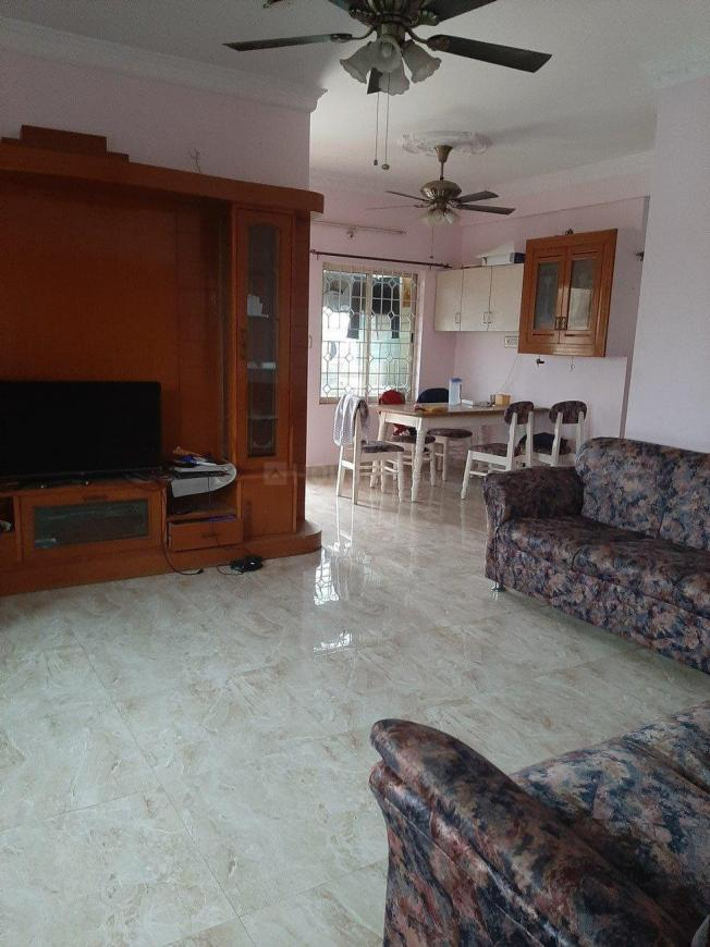 Living Room Image of 1500 Sq.ft 3 BHK Apartment for rent in New Thippasandra for 35000