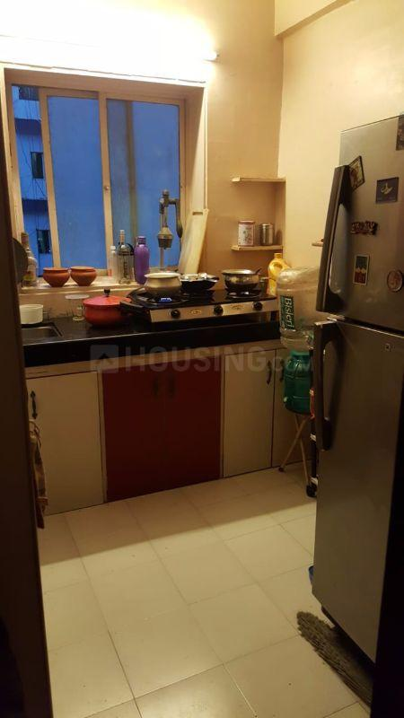 Kitchen Image of 650 Sq.ft 1 BHK Apartment for rent in Juhu for 50000