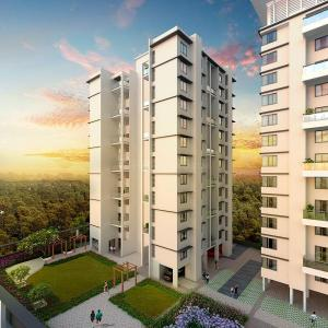 Gallery Cover Image of 1186 Sq.ft 2 BHK Apartment for buy in Moshi for 6896000
