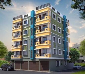 Gallery Cover Image of 999 Sq.ft 3 BHK Apartment for buy in Dakshineswar for 3700000