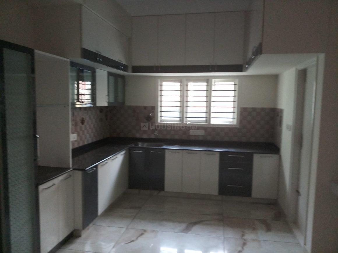 Kitchen Image of 1500 Sq.ft 3 BHK Independent Floor for rent in Horamavu for 25000