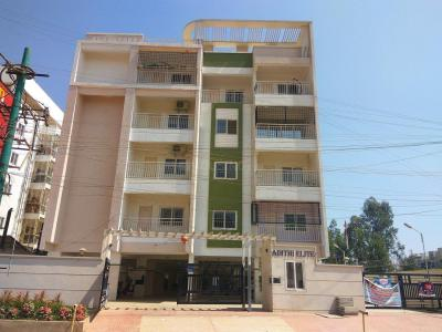 Gallery Cover Image of 1500 Sq.ft 3 BHK Apartment for rent in Adithi Elite, Bhoganhalli for 33000
